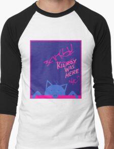 BANKSY NYC 2013 Commemorative T-shirt (Boy Color Scheme) Men's Baseball ¾ T-Shirt