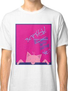 BANKSY NYC 2013 Commemorative T-shirt (Girl Color Scheme) Classic T-Shirt