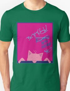 BANKSY NYC 2013 Commemorative T-shirt (Girl Color Scheme) T-Shirt