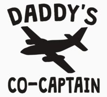 Daddy's Co-Captain Kids Tee