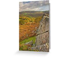 Sanctuary of Autumn Greeting Card
