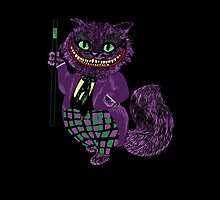 The Cheshire Joker iphone by EdWoody