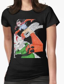 Dance Of the Puppet Eater Womens Fitted T-Shirt