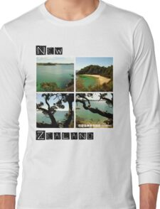 New Zealand - Whale Bay - Tee Long Sleeve T-Shirt