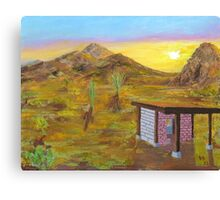 Adobe 44 - Desert Dreamin' Canvas Print