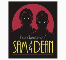 Sam and Dean: The Animates Series Sticker by RyanAstle