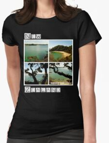 New Zealand - Whale Bay - Tee Womens Fitted T-Shirt