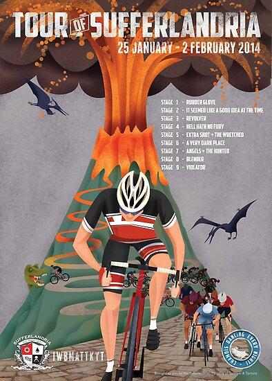 Tour of Sufferlandria 2014 by Grunter Von Agony