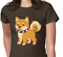 Punk Shibe Womens Fitted T-Shirt