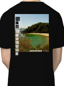 New Zealand - Whale Bay - Tee Classic T-Shirt