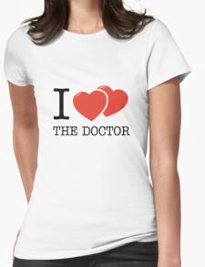 I (2 Hearts) The Doctor T-Shirt