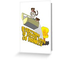 Everything is Better with CG monkies Greeting Card