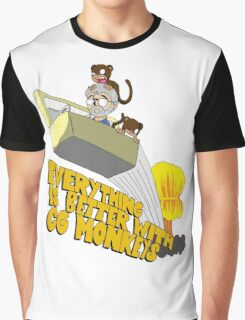 Everything is Better with CG monkies Graphic T-Shirt