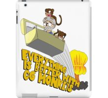 Everything is Better with CG monkies iPad Case/Skin
