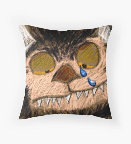 Wild Sympathy  Throw Pillow