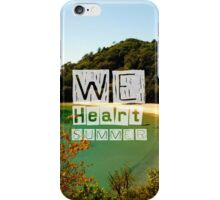 WeHeartSummer - NZ Phone Case iPhone Case/Skin