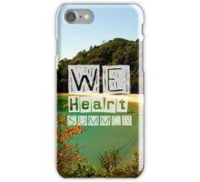 WeHeartSummer - NZ Phone Case iPhone Case/Skin