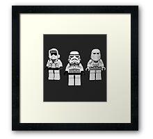 STORMTROOPERS UNIT STAR WARS Framed Print