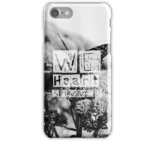 WeHeartSummer - Butterflies Black&White Phone Case iPhone Case/Skin