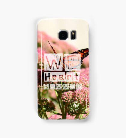 WeHeartSummer - Butterflies - Phone Case Samsung Galaxy Case/Skin