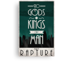 Rapture Travel Poster Canvas Print