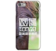 WeHeartHorses - Phone Case iPhone Case/Skin