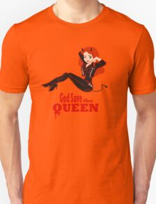 God Save the Queen (of Hell) T-Shirt