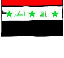 Iraq Flag by kwg2200