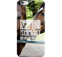 WeHeartHorses - Phone Case iPhone Case/Skin