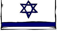 Israel Flag by kwg2200