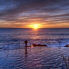 The Sunrise photographer by Flossy13