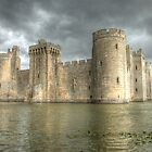 Bodiam Castle by Flossy13