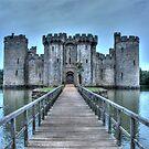 Bodiam drawbridge by Flossy13