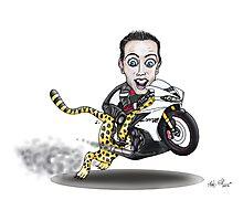 Cheetahbike Photographic Print