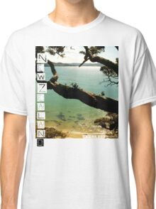 New Zealand - Whale Bay Tshirt Classic T-Shirt