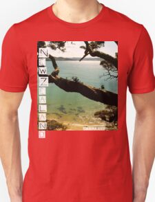 New Zealand - Whale Bay - Tshirt T-Shirt