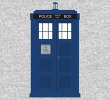 Tardis Police Box Kids Tee