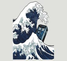 Phone booth with the great wave by DePeak DesignCorner