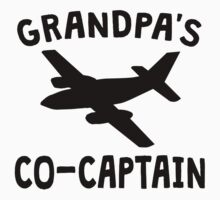 Grandpa's Co-Captain One Piece - Short Sleeve