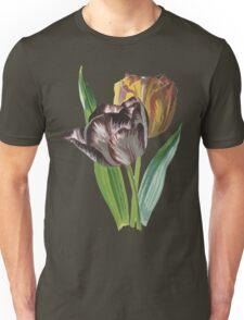 Tulip Vector on White Background Unisex T-Shirt