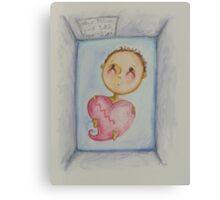 Baby Fletcher Canvas Print