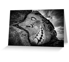 Granite Grin Greeting Card