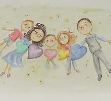 Fletcher and Family by Rosie Harriott