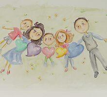 Fletcher and Family by Rosie Harriott
