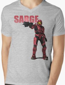 Sarge Mens V-Neck T-Shirt