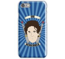 Doctor Who Portraits - Eighth Doctor - Remember (Night of the Doctor) iPhone Case/Skin
