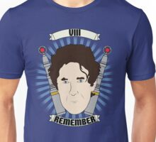 Doctor Who Portraits - Eighth Doctor - Remember (Night of the Doctor) Unisex T-Shirt