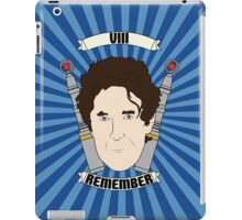 Doctor Who Portraits - Eighth Doctor - Remember (Night of the Doctor) iPad Case/Skin