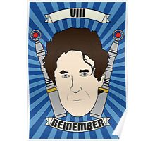 Doctor Who Portraits - Eighth Doctor - Remember (Night of the Doctor) Poster