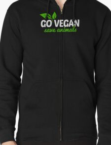 Go Vegan Save Animals T-Shirt